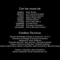 Creditos del doblaje (1ra Temproada)