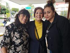 Paty, Gloria y Laura