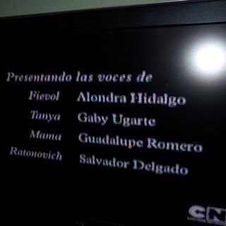 Créditos de la TV