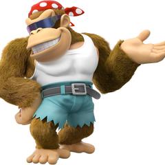 Funky Kong en <a href=