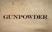 Gunpowder insertos