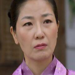 Dama de la corte Seo en <a href=
