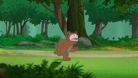 Bear Buford on the run