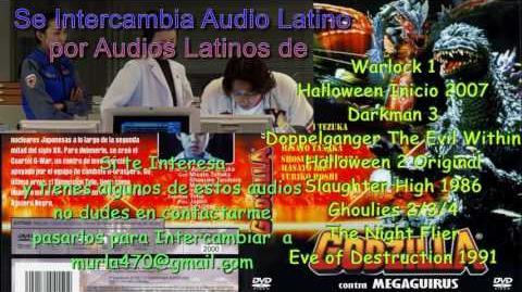 Godzilla vs Megagirus 2000 Doblaje Latino