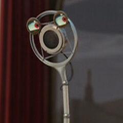 Micrófono en <a href=