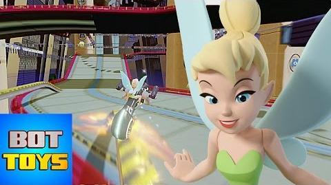 Caricaturas de Disney en Español Tinker Bell en Carreras de Disney Infinity 3