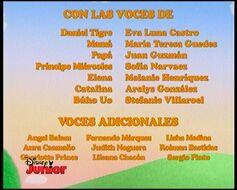 Créditos de doblaje del doblaje venezolano de Daniel Tiger (Primeros episodios) (TV) (DJR)