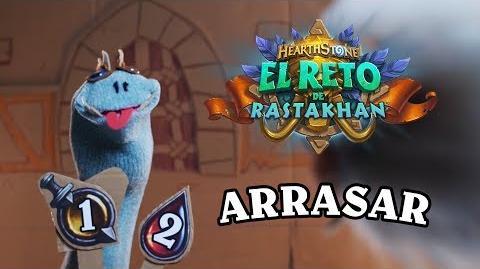 El Reto de Rastakhan ¡ARRASAR! - Hearthstone
