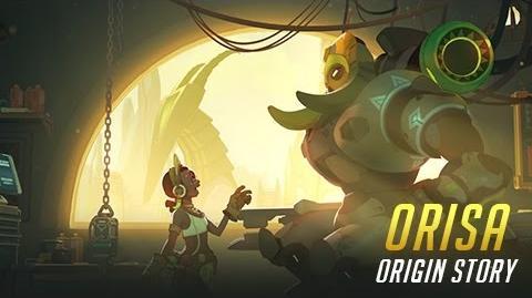 Historia del origen de Orisa - Overwatch