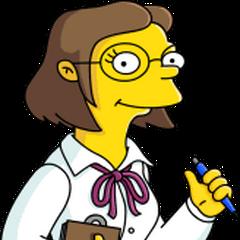 Maestra Elizabeth Stricter en <a href=