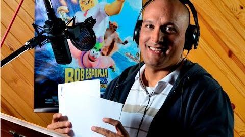 Saludo de Patricio Estrella para ElFarandi Alfonso Soto voz de Patricio Estrella en Bob Esponja