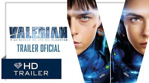 Valerian y la Ciudad de los Mil Planetas - Teaser Trailer 2 (Doblado)