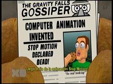 Gravity Falls - Llegó el fin de la animación stop motion