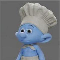 Pitufo Chef / Cocinero en <a href=