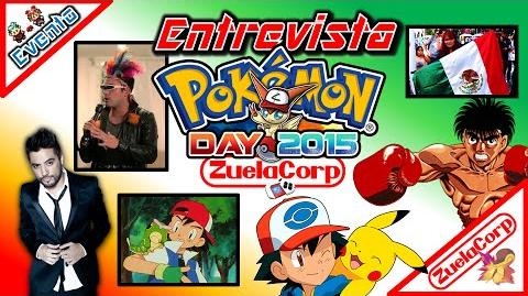 Event Entrevista a Gabo Ramos - Pokemon Day Chile 2015 - 18 Enero 201