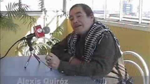 Alexis Quiroz, entrevistado por Malvial Producciones