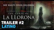 La maldición de La Llorona - Segundo Trailer Doblado al Español Latino