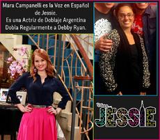 Mara Campanelli Doblaje Latino Jessie