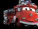 Rojo- Cars 1 & 2