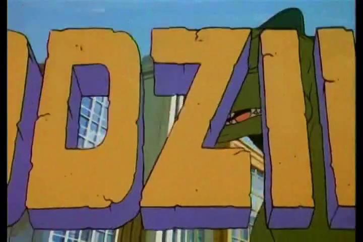 Godzilla hanna barbera en español latino episodio 1