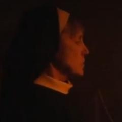 Hermana Olga en la película de terror [El convento]]