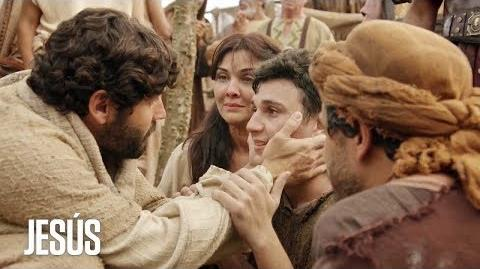 Jesús Jesús salva a un joven hebreo poseído por Satanás