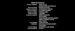 Olé, el viaje de Ferdinand Doblaje Latino Creditos 3