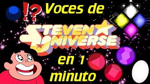 Voces de Steven Universe en 1 minuto- -44