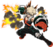 Katsuki Bakugo Hero Costume Action Pose MHA