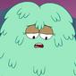 Kelly cubierta de pelo
