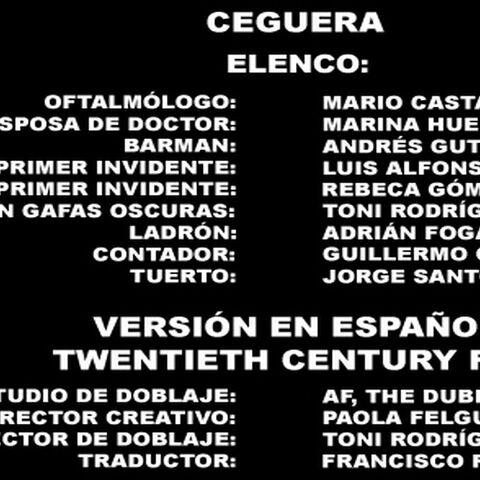 Créditos del DVD (Versión FOX)
