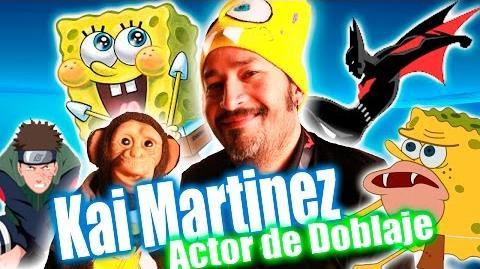 Kai Martinez Voz BOB ESPONJA - Chango Memé
