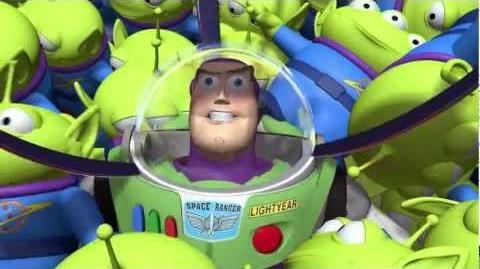La Garra - Marcianitos de Toy Story - Copyright © 1995 Disney Pixar