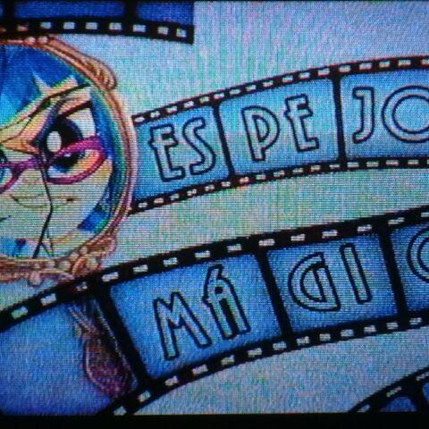 Carta de título en español, tal como se muestra en Discovery Kids