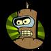 Futurama - Bender (versión de madera)