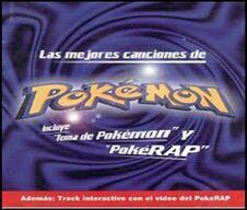 Las mejores canciones de Pokémon CD Méjico