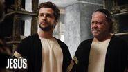 Jesús Santiago prueba ante Caifás y Anás que Jesús es el Mesías