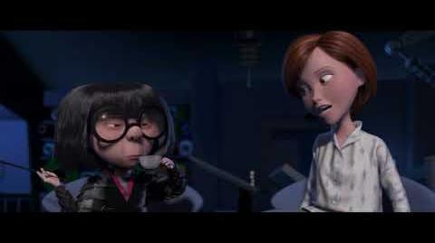 Los Increíbles - Helen con Edna Moda - Doblaje Argentino