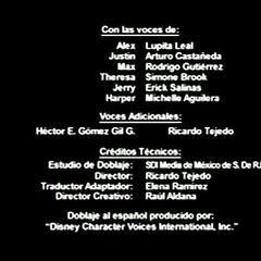 Créditos de doblaje (Temporada 1)
