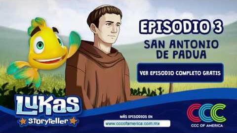 Lukas Storyteller San Antonio de Padua