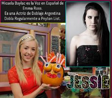 Micaela Baylac Doblaje Latino Emma Ross