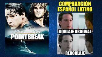Punto de Quiebre -1991- Comparación del Doblaje Original y Redoblaje -Español Latino-