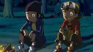 Takuya y Kouji hablan de la derrota que tuvieron contra Grumblemon - Latino