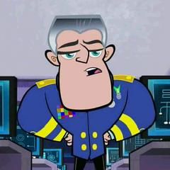 Almirante Chuck Marx en <a href=