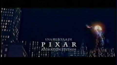 """Comercial de el tráiler de la película """"Los Increíbles"""" (2004)"""