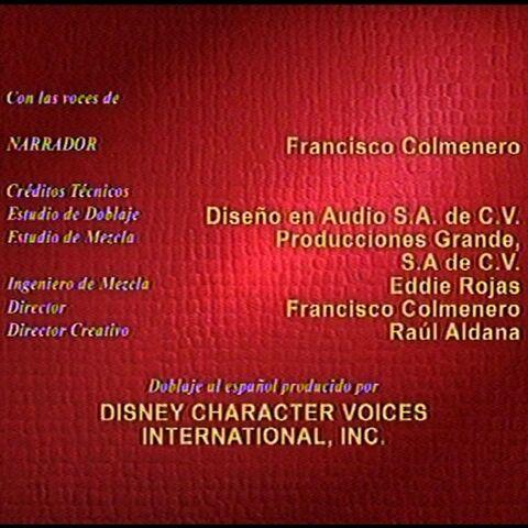 Créditos de redoblaje ¡A reír con Mickey!