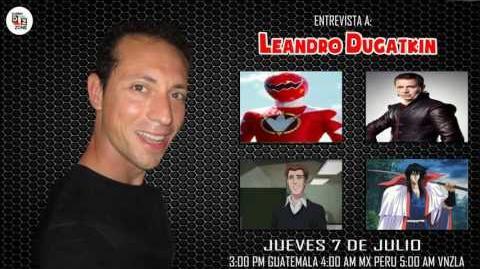 Entrevista a Leandro Dugatkin en Dubbing Zone