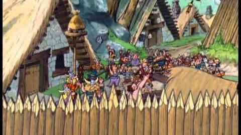 Las doce pruebas de Astérix (1976)