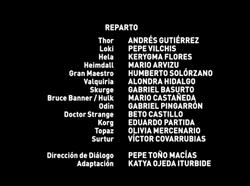 Thor- Ragnarok Doblaje Latino Creditos 1