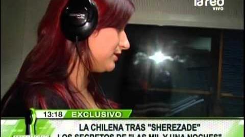 Encontramos a la chilena tras la voz de Sherezade de Las Mil y una Noches-1